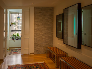 Duo Arquitectura y Diseño Koridor & Tangga Gaya Eklektik