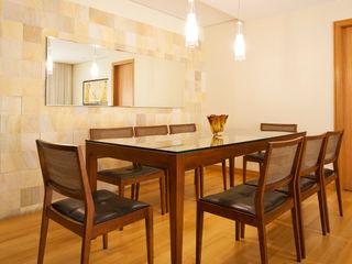 Apartamento em Perdizes Enzo Sobocinski Arquitetura & Interiores Salas de jantar modernas Madeira Bege