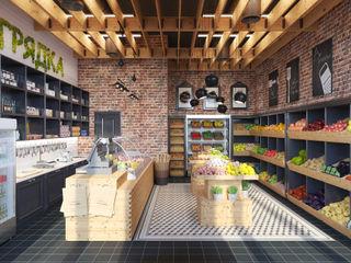 Giovani Design Studio Oficinas y tiendas de estilo industrial