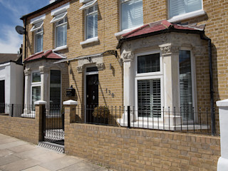 Front Brick Repointing - Greenwich South London Millennium Interior Designers