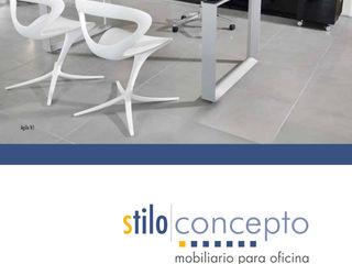Stilo Concepto Oficinas y tiendas Compuestos de madera y plástico Acabado en madera