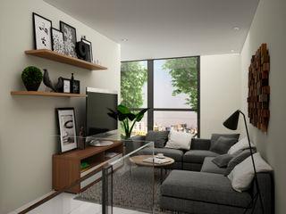 Citlali Villarreal Interiorismo & Diseño Modern media room