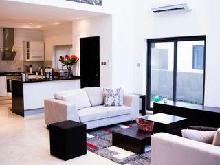Contemporary, modern minimalist design open plan kitchen made by Schmidt Barnet Schmidt Kitchens Barnet Kitchen MDF White