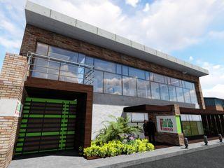 Galpón Laboratorio en Miami Ghalmaca Arquitectura Garajes y galpones industriales Concreto reforzado Marrón