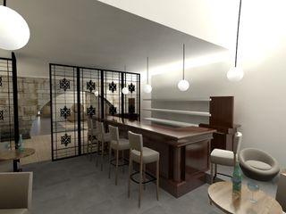 A3 Ateliê Academia de Arquitectura Modern wine cellar Wood