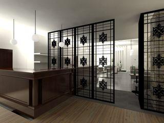 A3 Ateliê Academia de Arquitectura Modern wine cellar Iron/Steel