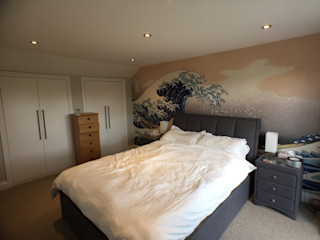 Rear Extension, Loft Conversion, Total Internal Out Fit Progressive Design London Modern style bedroom