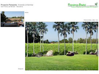 Jardin privado en Sant Vicenç de Montalt – Barcelona Paisajismo Digital
