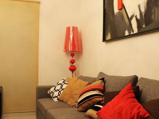 Constructora Asvial S.A de C.V. Living roomAccessories & decoration Textile Black