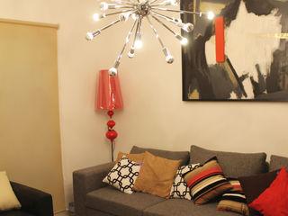 Constructora Asvial S.A de C.V. Living roomAccessories & decoration Textile Red