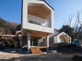 양평 바위마당 집 리슈건축 모던스타일 주택