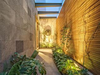 Casa CSF Lopez Duplan Arquitectos Pasillos, vestíbulos y escaleras clásicas