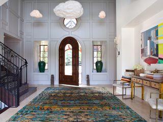 Andrea Schumacher Interiors Pasillos, vestíbulos y escaleras clásicas