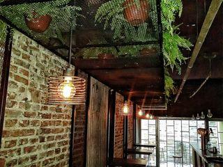 Lamparas Colgantes Edison Espiral Lamparas Vintage Vieja Eddie Oficinas y locales comerciales Hierro/Acero Metálico/Plateado