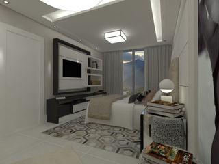 Marcos Soares Arquitetura Modern style bedroom