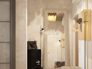 Vashantsev Nik Ingresso, Corridoio & Scale in stile industriale