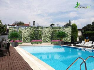 G.M KONUTU PEYZAJ PROJELENDİRME konseptDE Peyzaj Fidancılık Tic. Ltd. Şti. Modern Bahçe