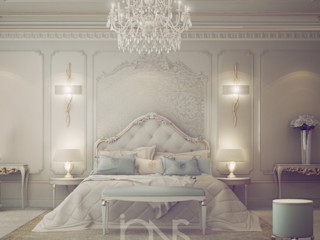 Fresh and Dreamy Bedroom Design IONS DESIGN Mediterranean style bedroom Marble White