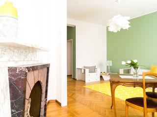 Eleonor's home Francesca Greco - HOME|Philosophy Soggiorno moderno