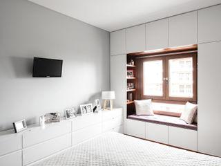 Estúdio AMATAM Eklektik Yatak Odası