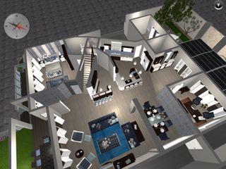 CS DESIGN Ruang Keluarga Modern