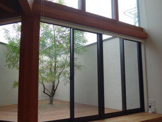 鏡島ベース FrameWork設計事務所 ラスティックな 庭