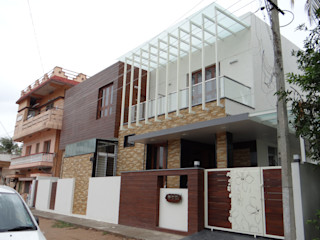 East elevation Hasta architects Modern houses