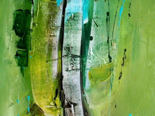 Indian Art Ideas Edifícios comerciais asiáticos Verde