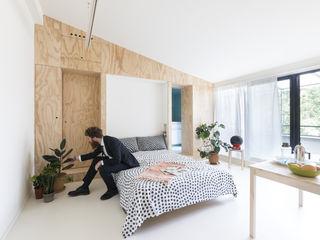 studio wok Спальня