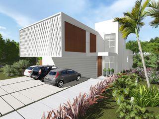 Renata Matos Arquitetura & Business Modern houses Wood Wood effect