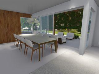 Renata Matos Arquitetura & Business Modern houses Concrete White