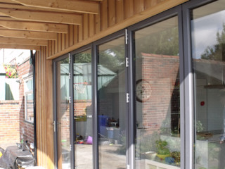 extension and alteration to edwardian house Sheffield Jump Architects Ltd Eclectic style houses Aluminium/Zinc