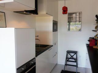espaces & déco Cocinas de estilo industrial Blanco