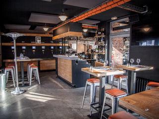 Le BEERSTRO - Lille DCA Bars & clubs modernes Béton Gris