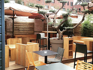 Le BEERSTRO - Lille DCA Bars & clubs modernes Bois Effet bois