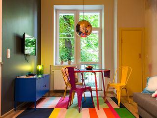 Finchstudio Гостиная в стиле модерн Многоцветный