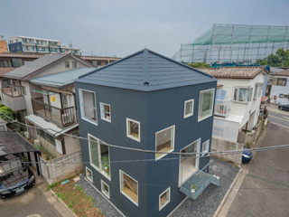 水石浩太建築設計室/ MIZUISHI Architect Atelier Casas modernas: Ideas, imágenes y decoración