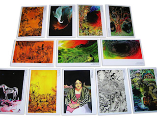 Katherine Aguilar ArtworkOther artistic objects Kertas Multicolored