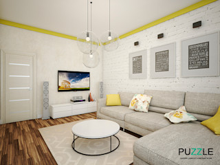 PUZZLE Modern living room