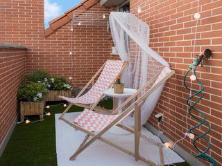 Become a Home Balcones y terrazas de estilo escandinavo