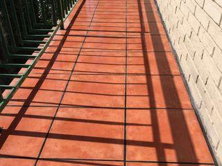 Fecofer, Proyectos y Reformas Dinding & Lantai Gaya Rustic Orange