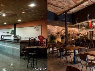 Lavolta Bar & Klub Gaya Industrial