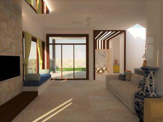 INTERIOR ARCHITECTURE - 02 Urban Shaastra Modern living room
