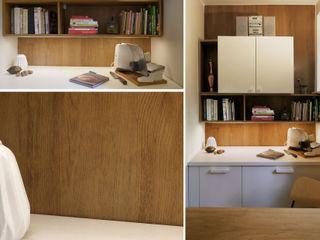 DoMilimetra Minimalistische Küchen Holz Braun