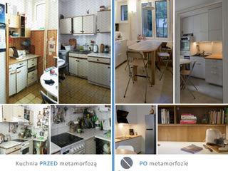 DoMilimetra Minimalistische Küchen Holz Weiß