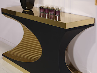 Pozzo Durius_ConceptDesign Living roomCupboards & sideboards Wood Amber/Gold