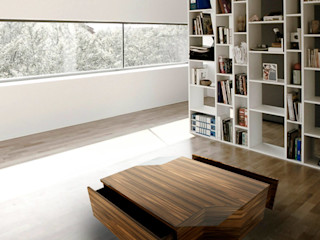 Portus Cale Coffe Table Durius_ConceptDesign Living roomSide tables & trays Wood Wood effect