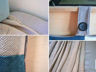 DoMilimetra Moderne Schlafzimmer Blau