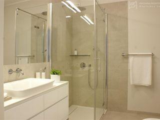 Pracownia Projektowa Pe2 Minimalist style bathroom