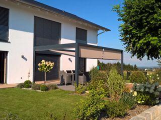 Textile Sonnenschutz- Technik Moderne tuinen
